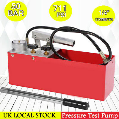 Pressure Test Pump 12 Litre Oil Water Heating System Leakage Tester Tool