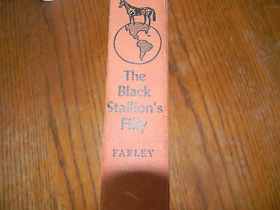 Vintage Book, Copyright 1952, The Black Stallion's Filly by Farley