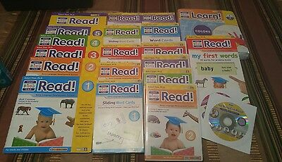 Your Baby Can Read Kit DVDs, Word Cards, Window Book, Double-sided Cards 2009