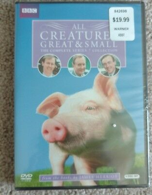 All Creatures Great  Small: The Complete Series 7 (DVD, 2010, 4-Disc Set)