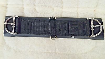 American Made Western Black Neoprene Pony Girth/Cinch - 20""