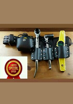 Dura  Scaffolding Brown Leather Tool Belt Set With Quality Tools (Good Quality )