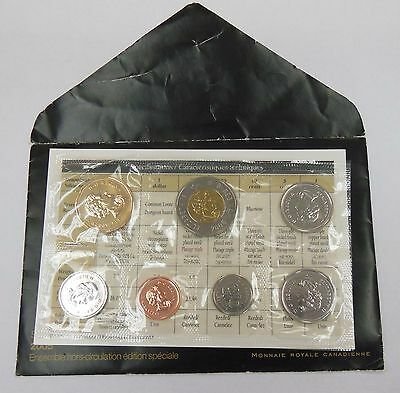 2005 Canada Mint PL 7 Coin Set $2 , $1 , 50, 25, 10, 5, 1 cent envelope and COA