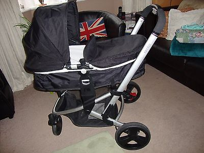 Mothercare Xpedior complete pram/pushchair travel system,&car seat