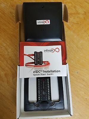 infinias eDIC32 POE door controllers new in the box
