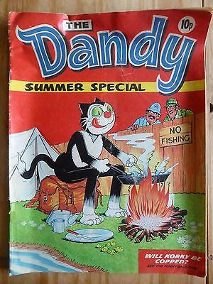The Dandy Summer Special 1973 Rare Comic