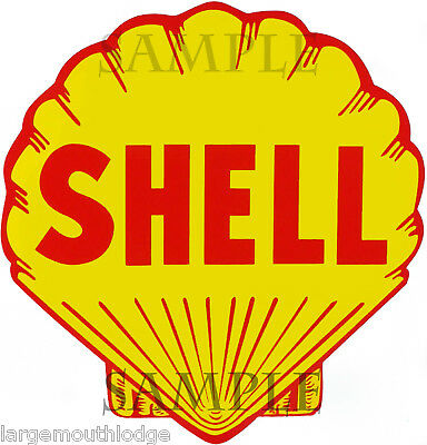 3 Inch Shell Oil Waterslide Decal Sticker