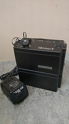 Quantum Instruments QPAQ-X  200W Watt/S Power Pack and Command Module & Battery