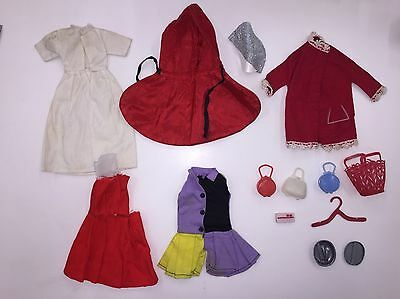 Sindy And Patch Doll 1960s Clothes And Accessories Job Lot Vintage Rare Bundle