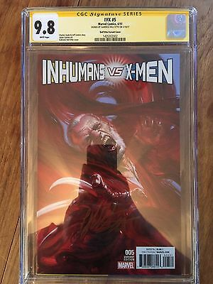 Ivx  #5  1:50 Variant Cgc Ss 9.8   (Signed By Gabriele Dell'otto) 1St Print