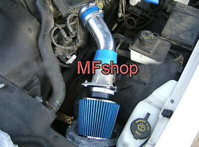 Blue For 1992-1995 Mercury Grand Marquis 4.6L V8 Air Intake System Kit + Filter