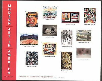 2013 #4748 Modern Art in America Pane of 12 Mint NH