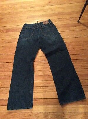 Lucky Brand 181 Relaxed Straight Handcrafted 30 X 32 Denim Jeans NWOT Darkwash