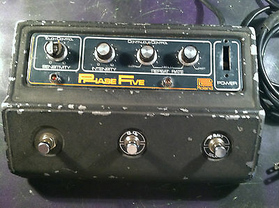 Vintage Roland Ap-5 Phase Five Phaser Effects Pedal Boss Shifter Incredible Tone