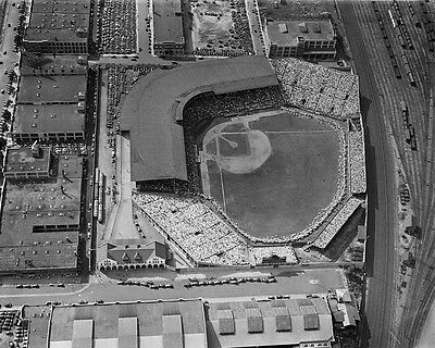 1933 Boston Braves BRAVES FIELD 'The Bee Hive' Glossy 8x10 Photo Print Poster