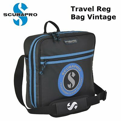 Scubapro Travel Reg Bag Vintage 53.309.100 Regulator Bags Scuba Diving Dive - AU