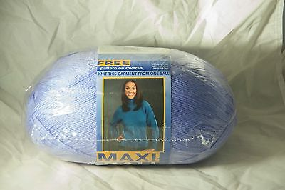 Maxi Ball 8 ply Wool (Shade No 346) New unopened with Pattern