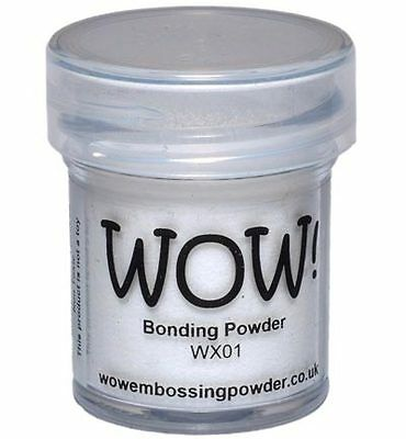 WOW! Bonding Powder für Transferfolie Glitzer Flock DIY 15 ml Embossing DIY WX01