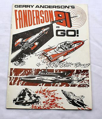 Thunderbirds Fanderson 81 Magazine - 3 x Autographs, Gerry Anderson, Ed Bishop