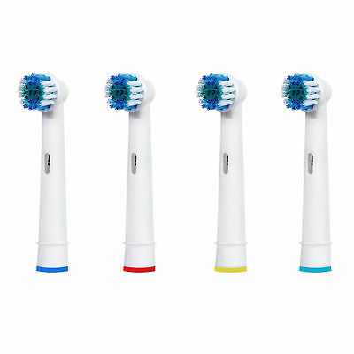 4x for Braun Oral B Electric Toothbrush Replacement heads Precision Clean AU