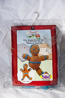 The Ginger Man Kitting/Crochet Kit