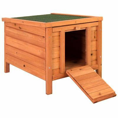 Pet Rabbit House Wooden Hutch Animal Home Cage Guinea Pig Bunny Hide Shelter