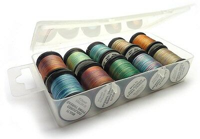 Maxi-Pack of Multi-Colour Fly Tying Thread for Fly Fishing  (MCTTPACK)