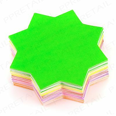 60 x ASSORTED COLOUR Neon Stars Display Tags Flash Price Labels Shop Pricing