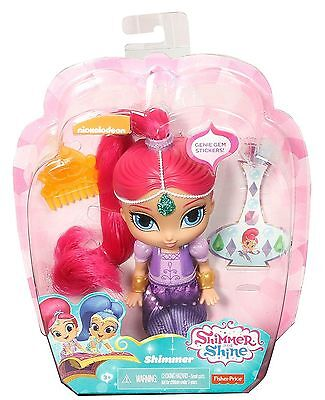 "Shimmer and Shine 6""  Doll - Shimmer - DLH56 - NEW"