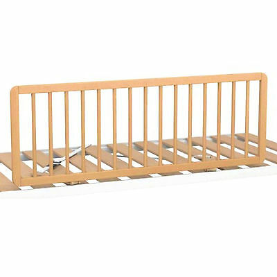 New Bebe 9 Junior Wooden Bed Rail Quick Release Toddler Bed Guard Beech