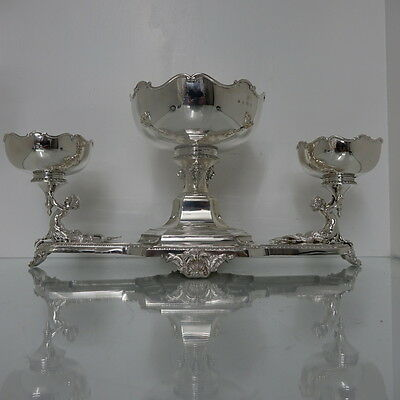 Large 20th Century George V Sterling Silver Centrepiece Birmingham 1926 Mappin &