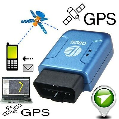 Vehicle Truck GPS Realtime Tracker Mini Spy Tracking Device GSM GPRS OBD II Car