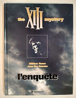 Xiii  ** Tome 13 Xiii Mystery L Enquete **  Eo   Vance/van Hamme