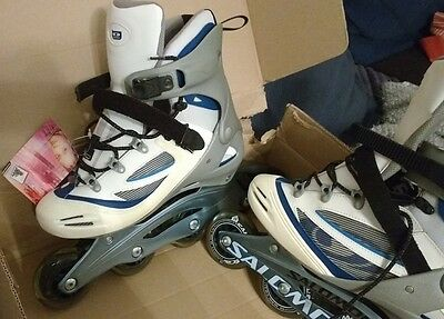 Saloman women's inline skates size 8 (EU42) new and in box