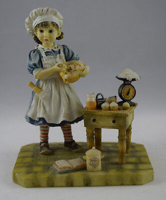 'BAKING DAY' by CHRISTINE HAWORTH PAINT BOX POPPETS LEONARDO COLLECTION