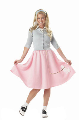 Poodle Skirt Womens Halloween Costume