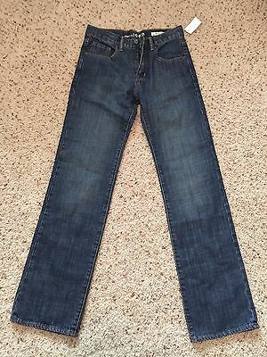 BNWT youth boys GAP Kids 1969 Original jeans size 18 slim