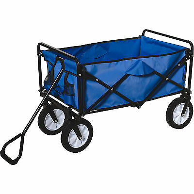 Neu Happy People Bollerwagen, blau 6580309