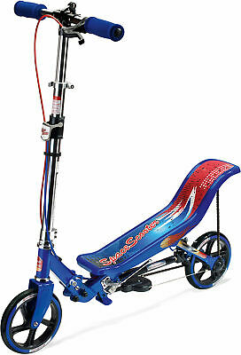Neu Space Scooter X 580 6611045 blau weiß pink