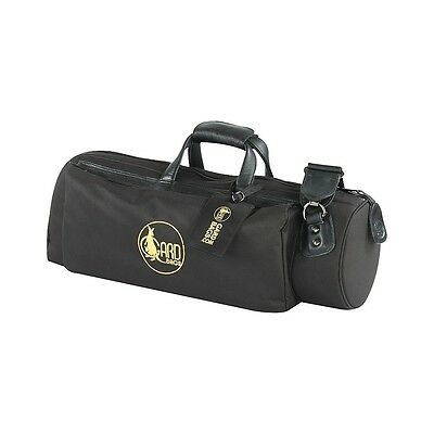 Gard Mid-Suspension Trumpet Gig Bag 1-MSK Black Synthetic w/ Leather Trim