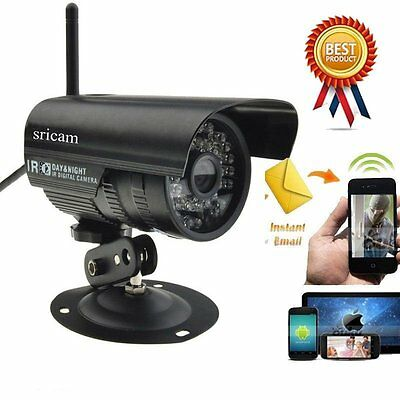 Outdoor Wireless WiFi 720P HD IP Network CCTV Security Camera IR Night Vision RK