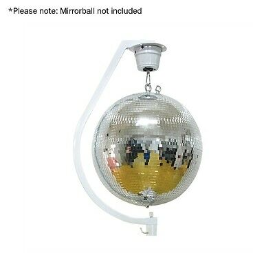 "Equinox Curve Mirror Ball Hanging Bracket up to 30cm / 12"" Disco Ball"