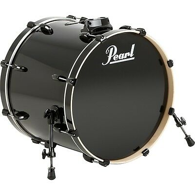 Pearl Vision Birch Bass Drum Jet Black 22x18 LN