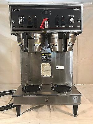 Bunn Dual Automatic Coffee Brewing Machine with Hot Water