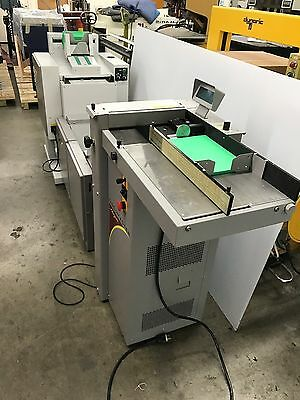 Morgana Documaster MK3 booklet maker with creasing and face trimmer horizon dupl