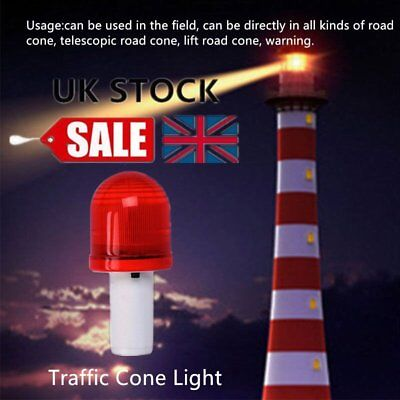 LED Road Hazard Skip Light Flashing Scaffolding Traffic Cone Safety Strobe RK