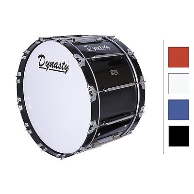 "Dynasty Marching Bass Drum 26"" Red 26x14"""