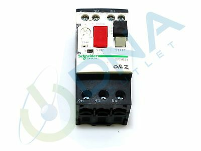 Schneider Electric Gv2Me08 Motor Circuit Breaker 2.5-4A - Taken From Working