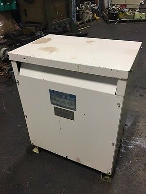 Olsun Electric 45 KVA Machine 3 Phase Transformer, 240/480 to 220Y/127, Used