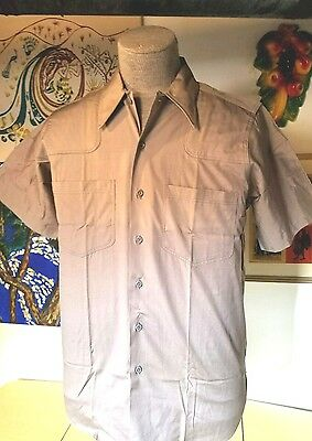 1940,s dead stock work shirt sz med